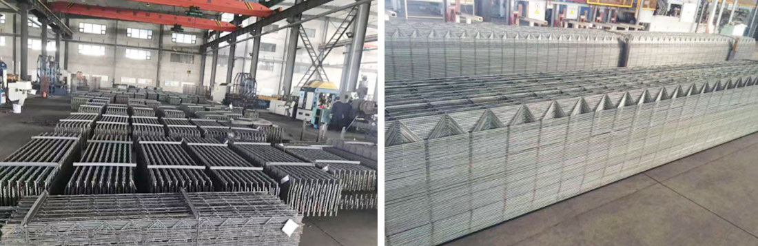 Our factory installed the production line of lattice girder from Austria EVG