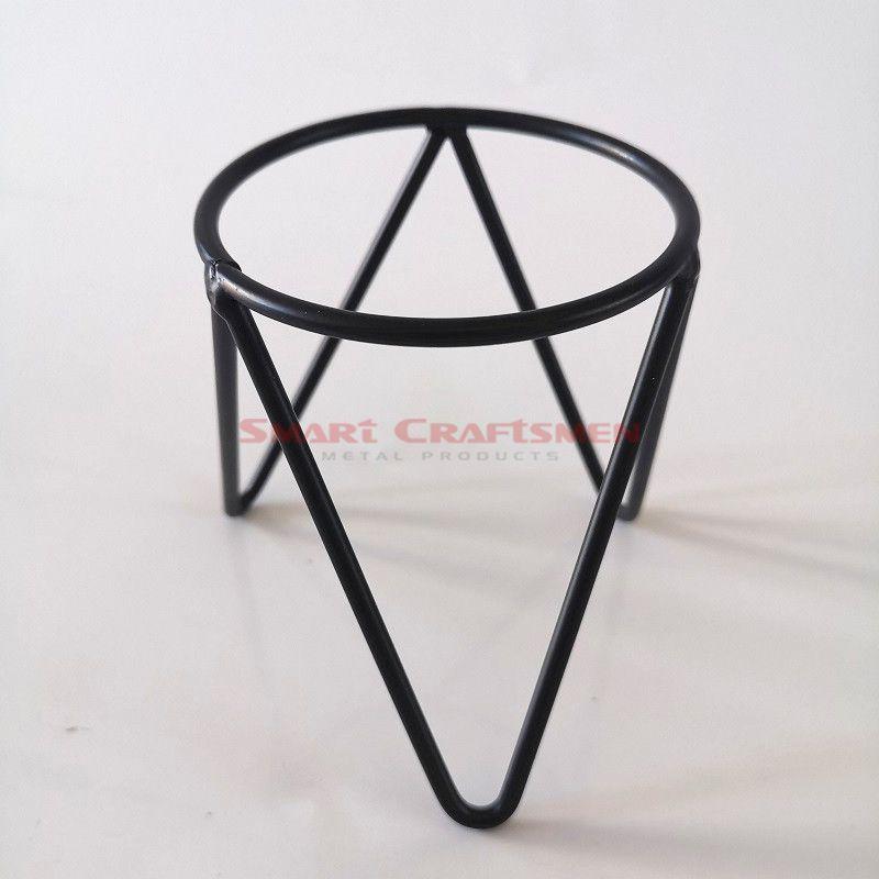 Iron Plant Vase Stand
