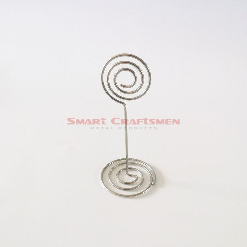 Love Heart Card Wire Holders(Wedding Table Number Clips /Place Card Holders)