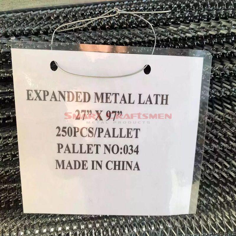 Galvanised Metal Mesh Lath - 2500 X 700mm