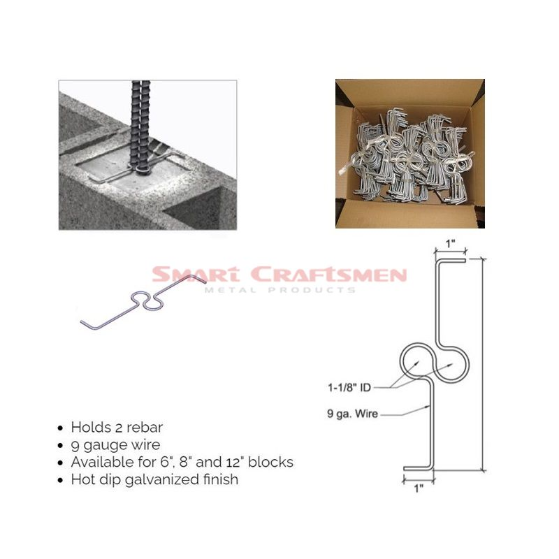 Single Rebar Positioner